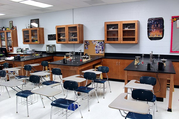 Lexington High School Science Lab 1