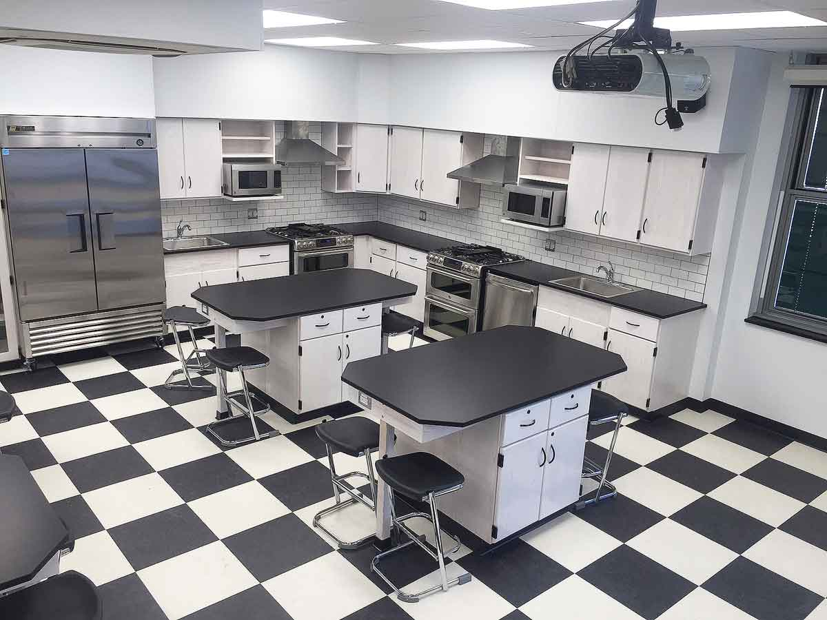 Raritan High School, Culinary Arts Lab, Hazelet NJ
