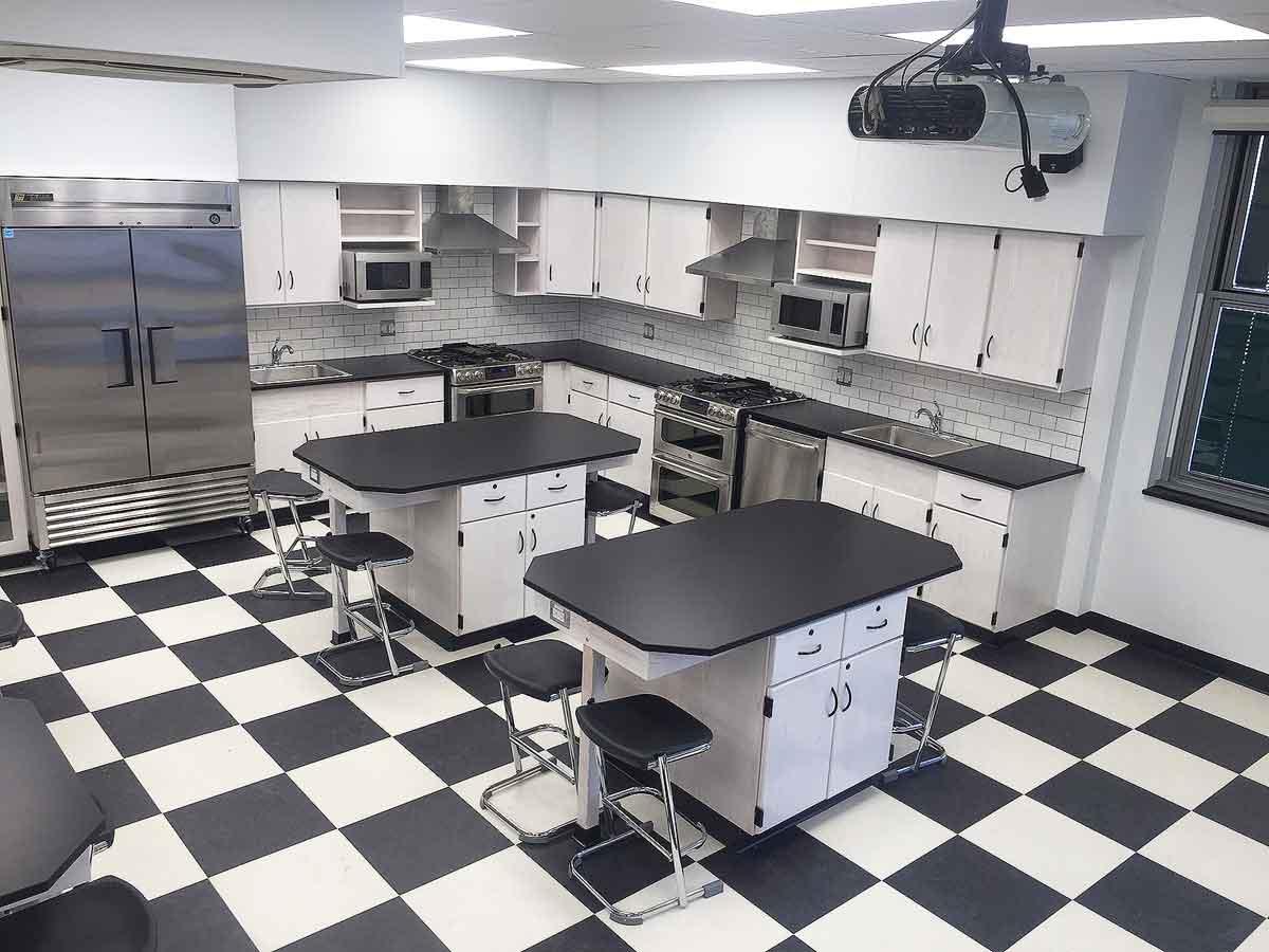 Raritan High School, Culinary Arts Lab, Hazelet NJ